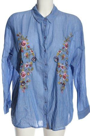 Pimkie Langarmhemd Blumenmuster Casual-Look