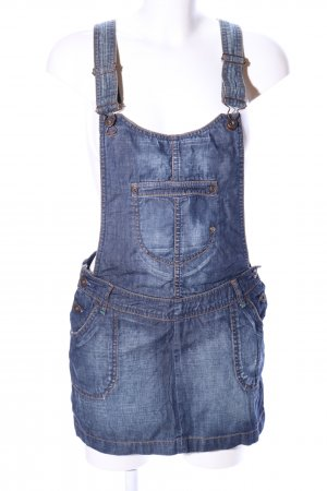 Pimkie Pinafore Overall Skirt blue casual look