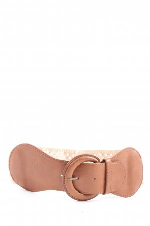Pimkie Faux Leather Belt nude casual look
