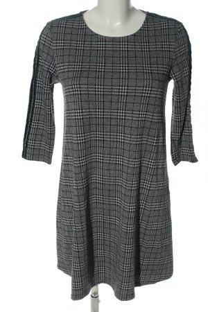 Pimkie Minikleid schwarz-weiß Allover-Druck Casual-Look