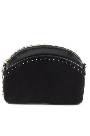 Pimkie Mini Bag black-gold-colored casual look