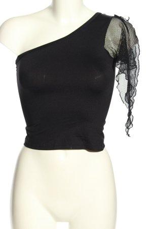 Pimkie One-Shoulder-Top schwarz Elegant