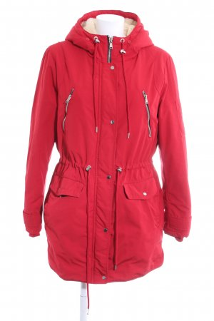 Pimkie Parka rood casual uitstraling