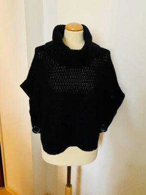 Pimkie Poncho en tricot noir