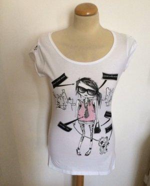 Pimkie Print T Shirt Gr M L