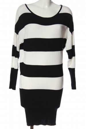 Pimkie Sweater Dress natural white-black allover print casual look