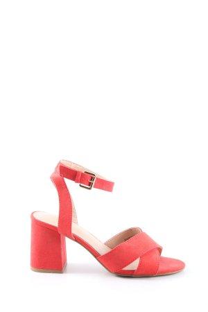 Pimkie Riemchen-Sandaletten rot Elegant
