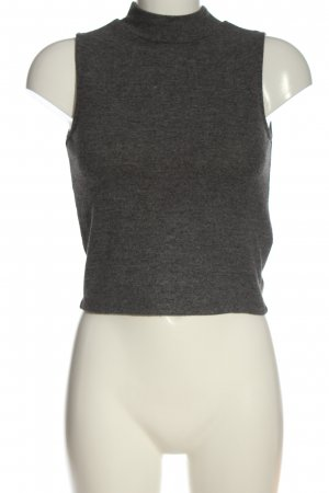 Pimkie Neckholder Top light grey flecked casual look