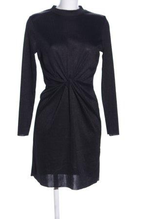 Pimkie Tube Dress black striped pattern casual look