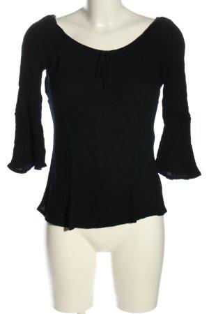 Pimkie Schlupf-Bluse schwarz Casual-Look