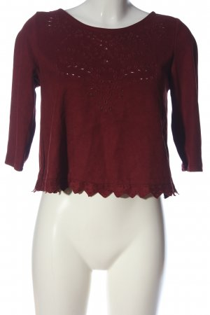 Pimkie Schlupf-Bluse rot Casual-Look