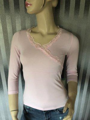 Pimkie T-shirt col en V rose clair