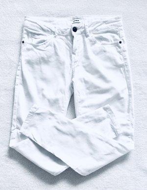 Pimkie Skinny Ankle Jeans weiß Gr. 34/36