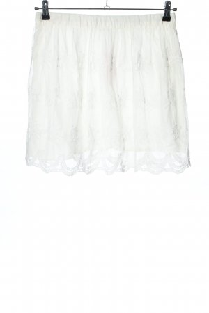 Pimkie Lace Skirt white casual look