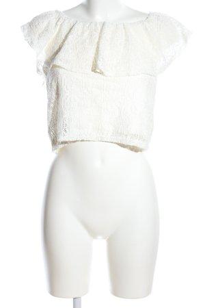 Pimkie Top di merletto crema stile casual
