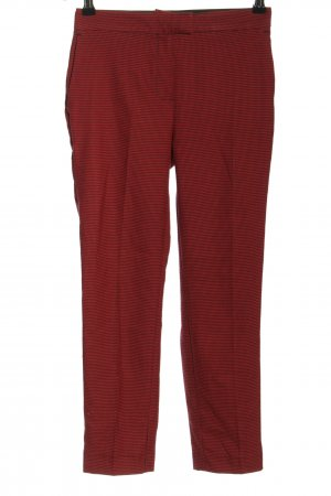 Pimkie Stoffhose rot Allover-Druck Business-Look
