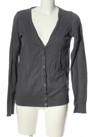 Pimkie Knitted Cardigan light grey flecked casual look