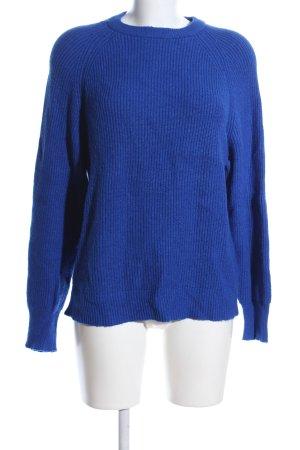 Pimkie Strickpullover blau Casual-Look