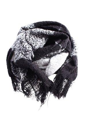 Pimkie Gebreide sjaal zwart-wit volledige print casual uitstraling