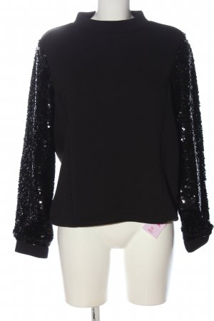 Pimkie Sweatshirt schwarz-weiß Casual-Look