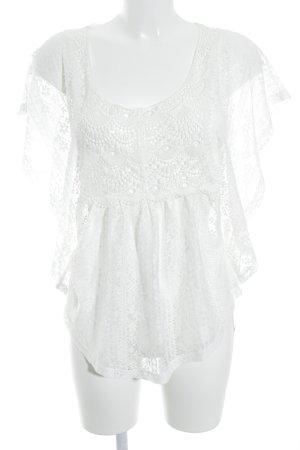 Pimkie T-Shirt weiß Street-Fashion-Look