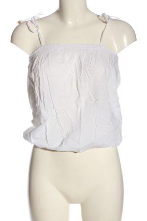 Pimkie Transparenz-Bluse weiß Elegant