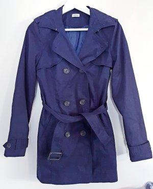 Pimkie Trenchcoat in Größe M, dunkelblau