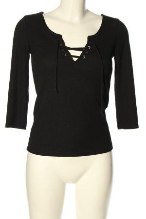 Pimkie V-Neck Shirt black casual look