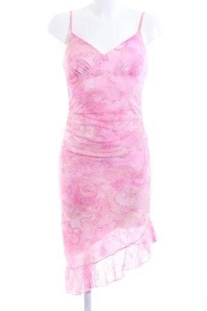 Pimkie Vestido estilo flounce rosa estilo fiesta