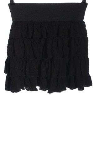 Pimkie Flounce Skirt black casual look