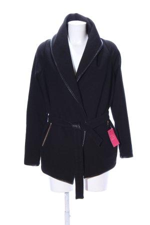 Pimkie Veste en laine noir style d'affaires