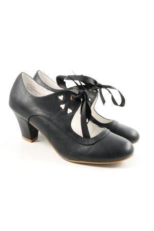 "Pin Up Couture Escarpins Mary Jane ""W-rma8xh"" bleu"