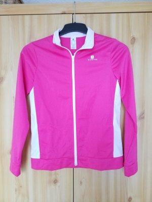 Decathlon Giacca sport bianco-rosa