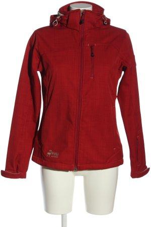 Pinea Outdoor Veste d'extérieur rouge moucheté style décontracté