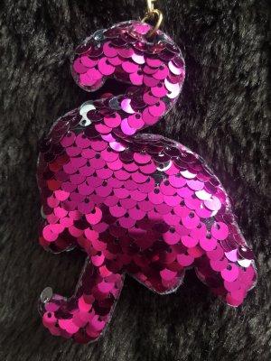 H&M Medaglione argento-rosa