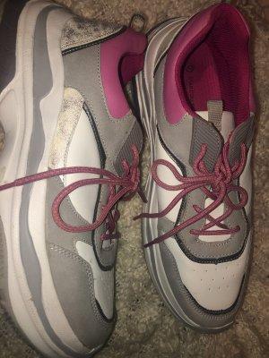 Pink Glitzer Sneaker