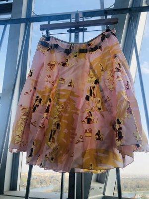 Guess Silk Skirt light pink