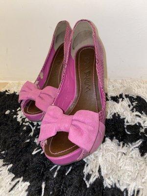 Pink hohe Schuhe aus Brasilien