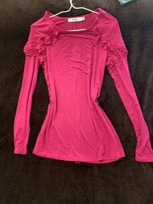 JustFab Frill Top magenta