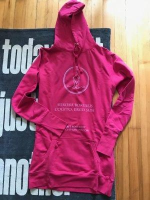 Pink Kapuzen Hoodie Kleid - neuwertig - Größe M