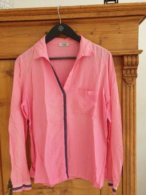 Pink Camicetta a maniche lunghe rosa