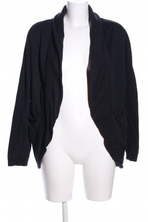 Pink loop Cardigan schwarz Casual-Look