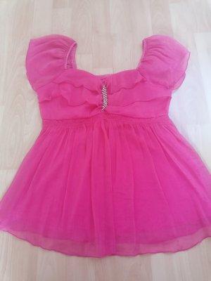 Batik shirt roze