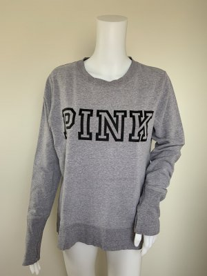 Pink Maglione girocollo grigio chiaro