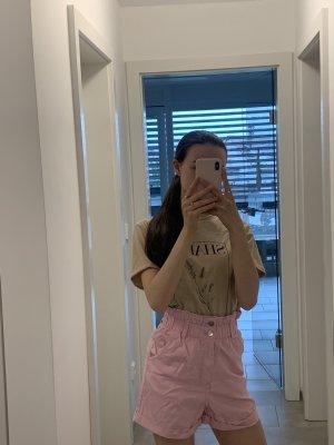 Pink rosane Jeans Shorts