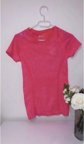 Pink rose rose top oberteil shirt tshrit gym fitness sport