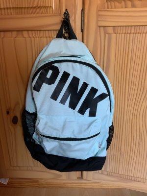 Pink Rucksack blau