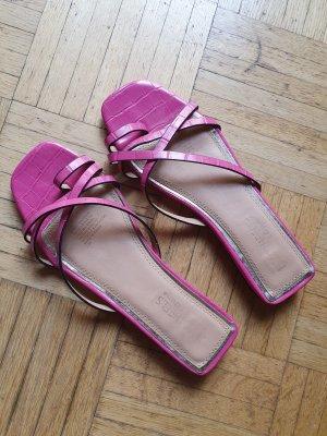 DUNE LONDON Toe-Post sandals magenta