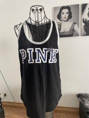 Pink Victoria's Secret Tank Top multicolored