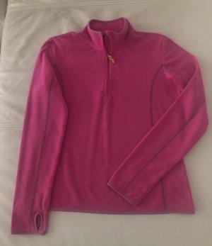 Pink Sport Shirt Yoga Kuschelig Leicht